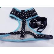 Peitoral Estrela Azul D45 42/75 M Oh My Pet