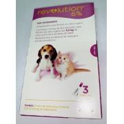 REVOLUTION 6% 15 MG Cães e Gatos 2,5kg