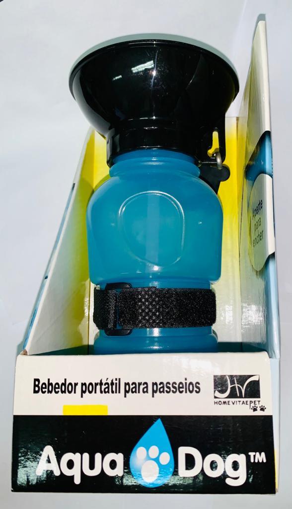 BEBEDOR PORTÁTIL PARA PASSEIO AZUL