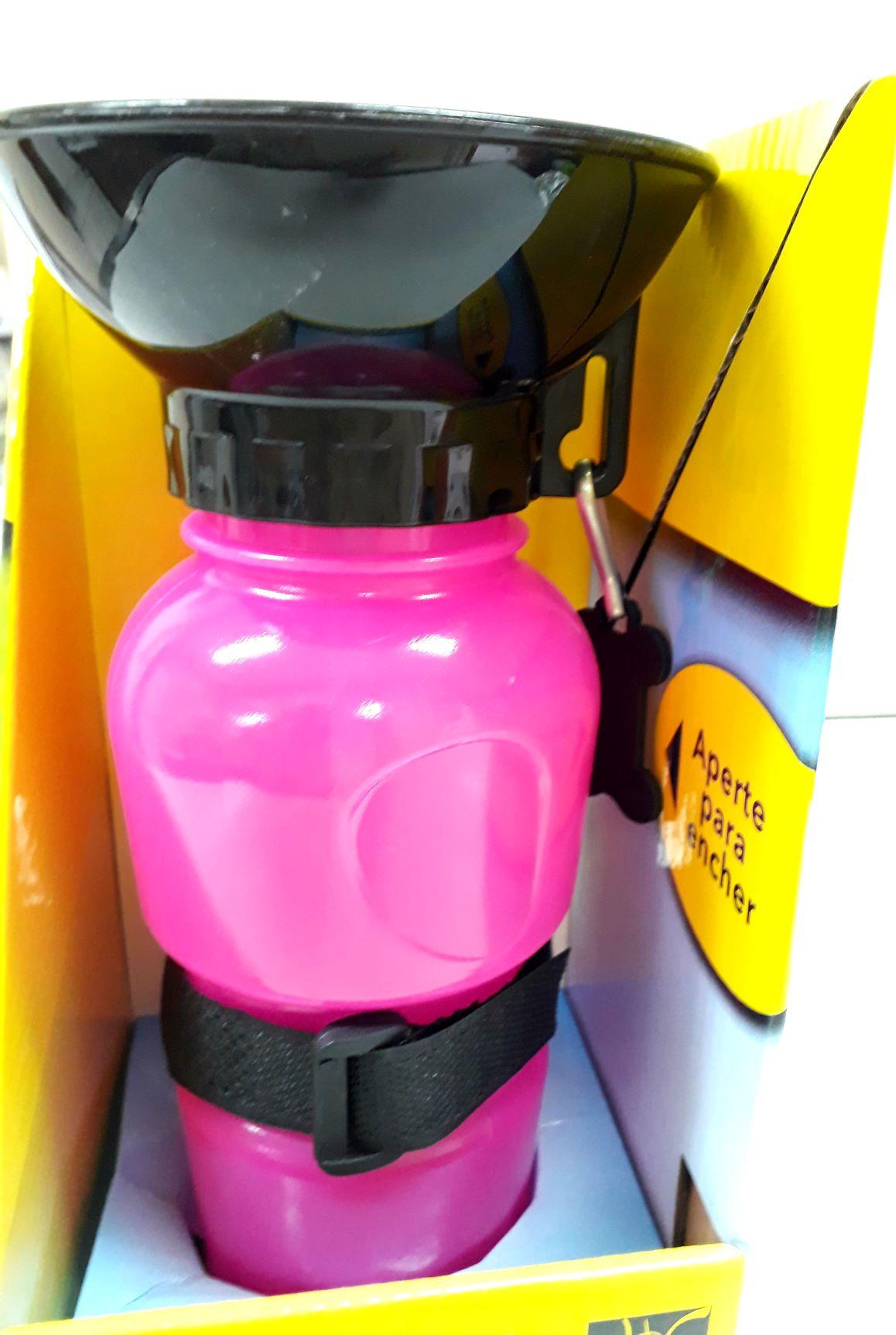 Bebedor Portatil Para Passeios Rosa