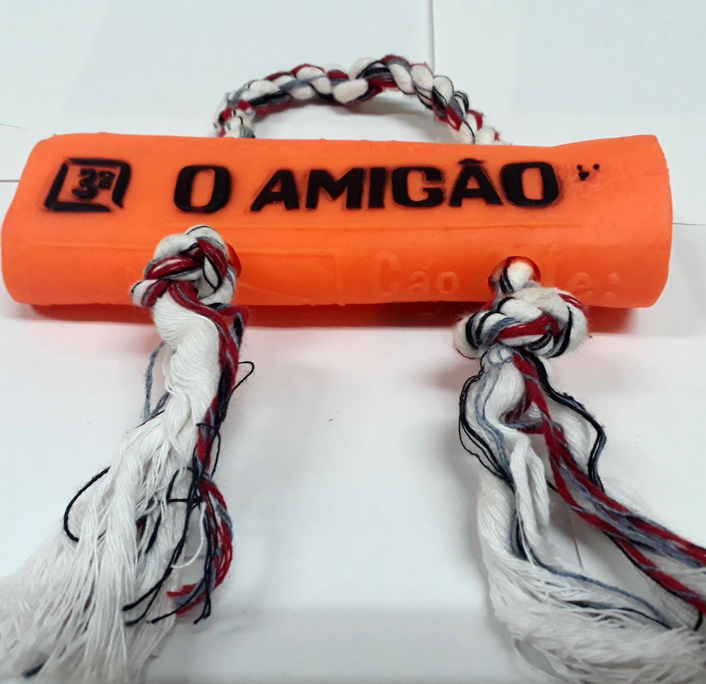 Brinquedo Para Cães Jornal De Plastico Com Corda