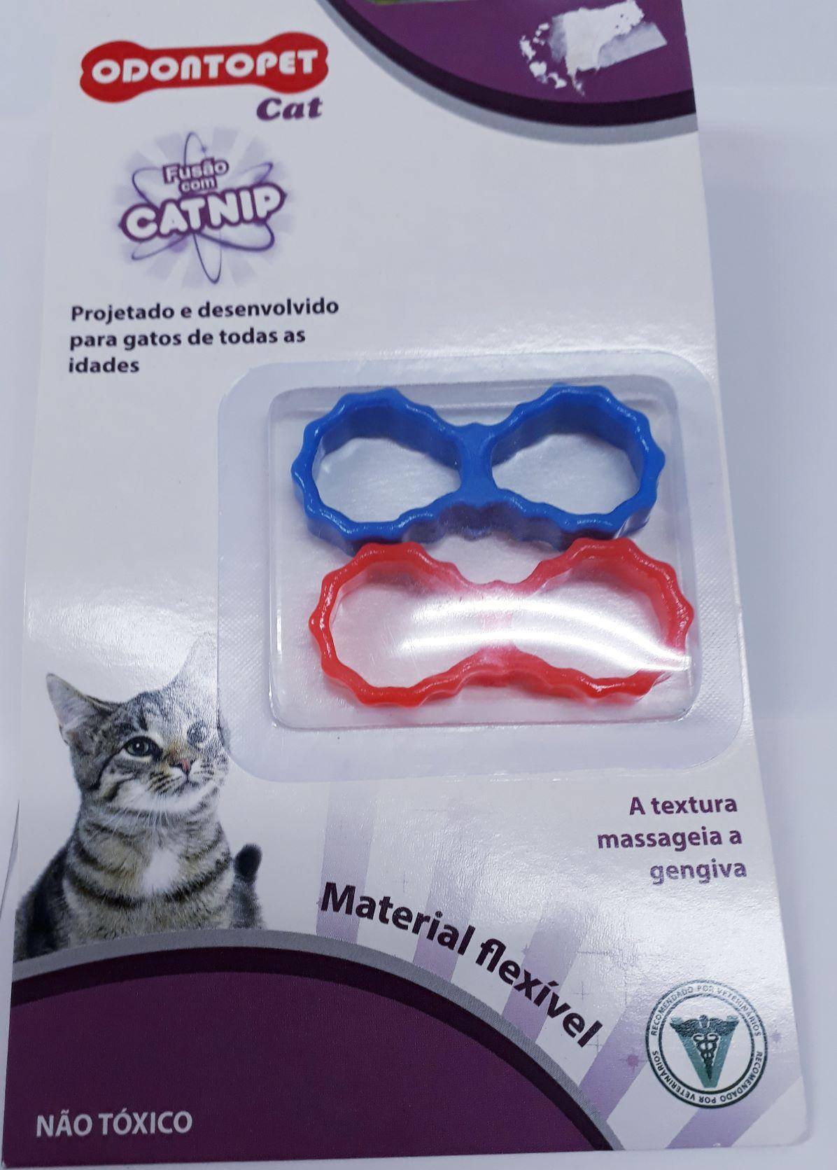 Brinquedo Para Gato Odontopet Laço