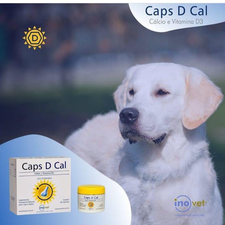 CAPS D CAL INOVET 30 CÁSPULAS