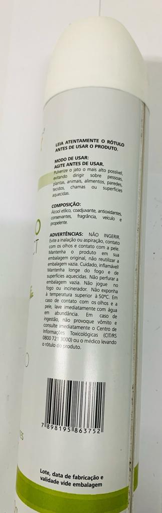 CHEIRINHO ORGANNACT CAPIM-LIMÃO