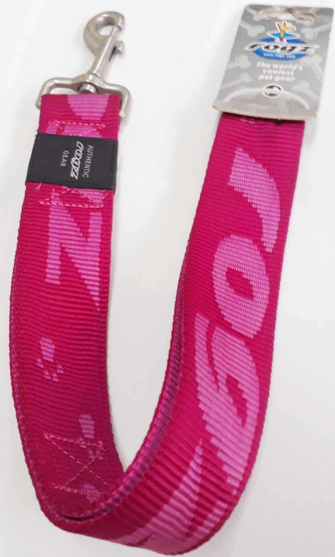 Guia Para Coleira Alpinist Pink 50 Cm Rogz