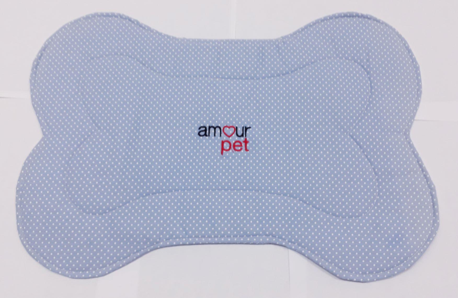 Jogos Americanos Pet Amour Poa Azul E Branco