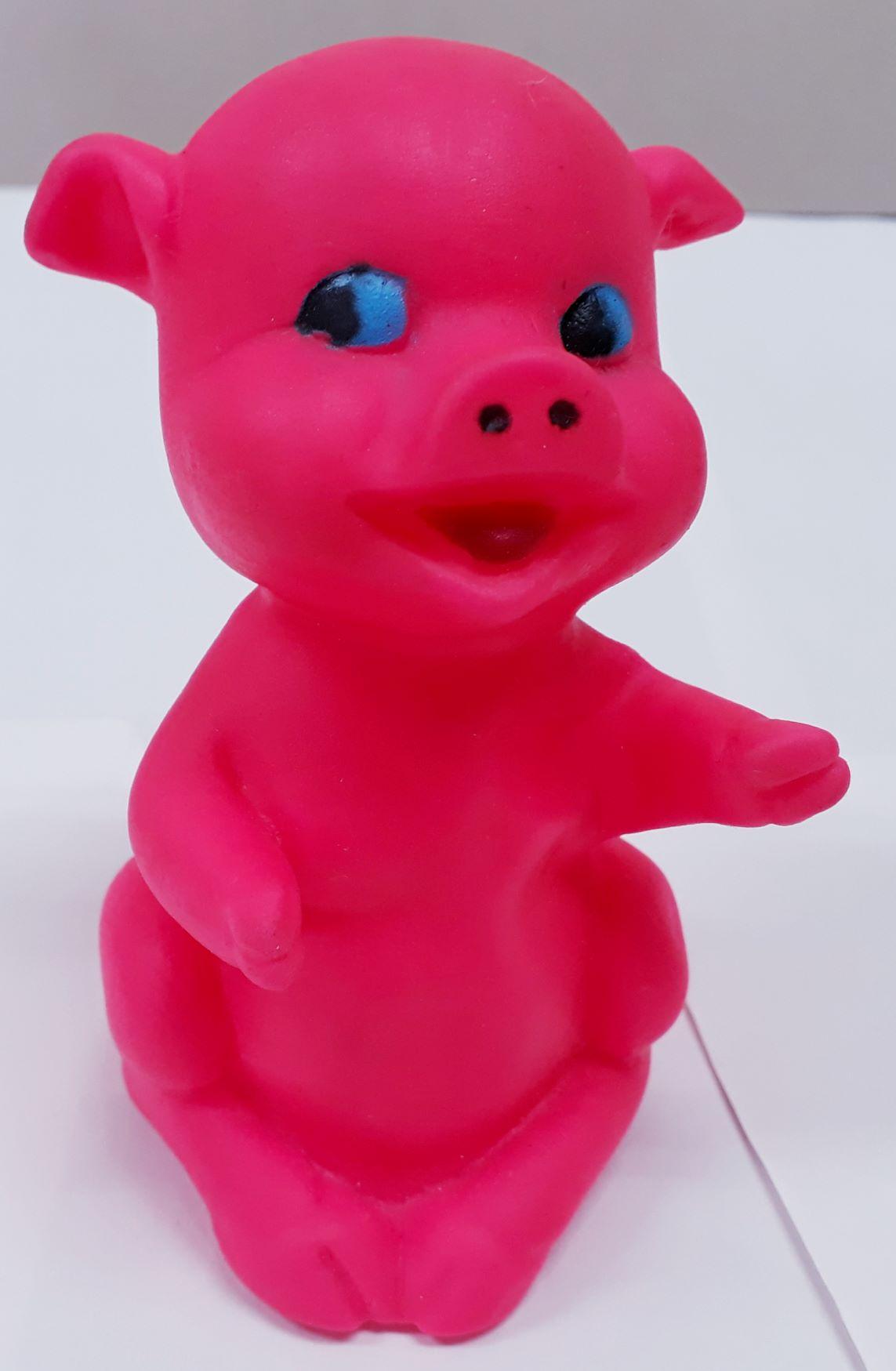 Mordedor Para Cães Porco Rosa