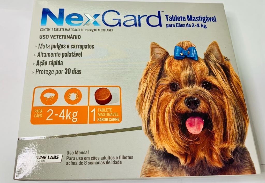 NEXGARD DE 2 - 4 KG - 1 TABLETE