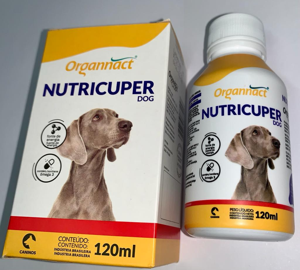 NUTRICUPER DOG ORGANNACT 120 ML