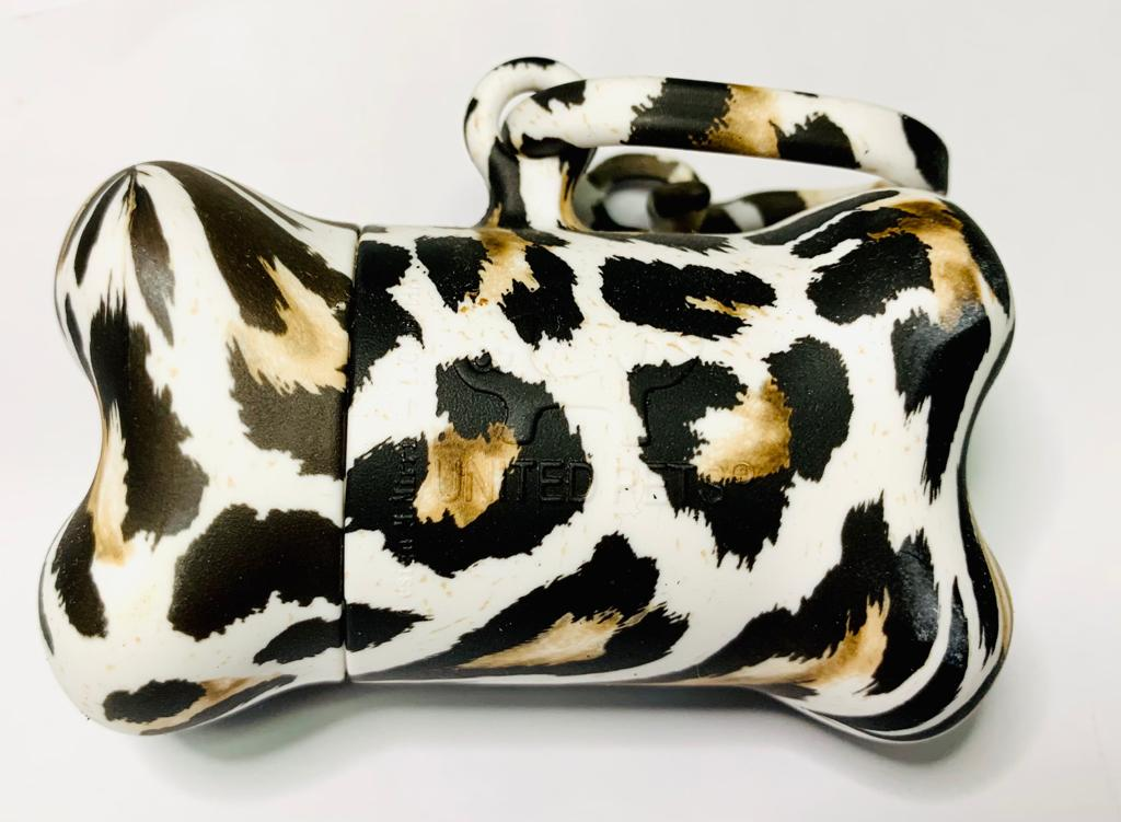 Porta Cata Caca United Pets Jungle - Leopardo