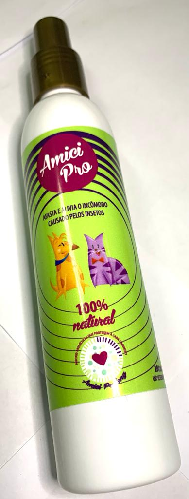 Repelente Natural Amci Pro - Spray Contra Insetos 200mL