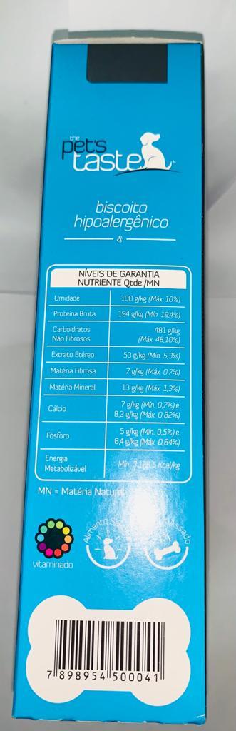 THE PETS TASTE BISCOITO HIPOALERGENICO 150 GRAMAS