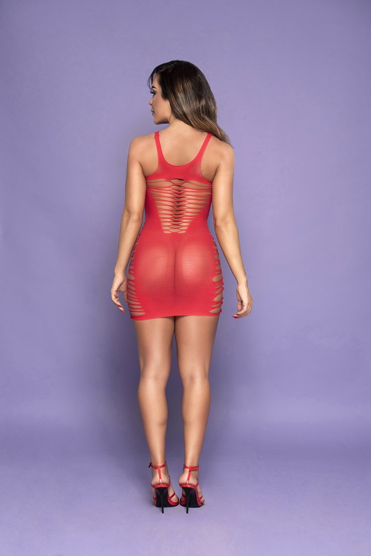 Lingerie - Bodystocking Yaffa - Y3428 - Red