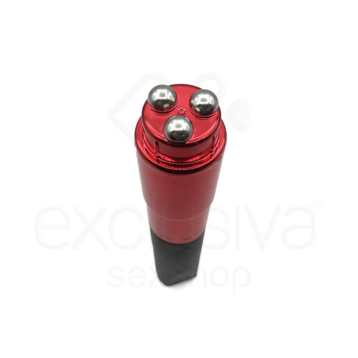 Estimulador Clitoriano com 3 Esferas em Metal e 10 Modos de Vibração - NAN213