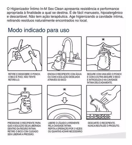 Higienizador Íntimo Descartável - Ducha - IN M