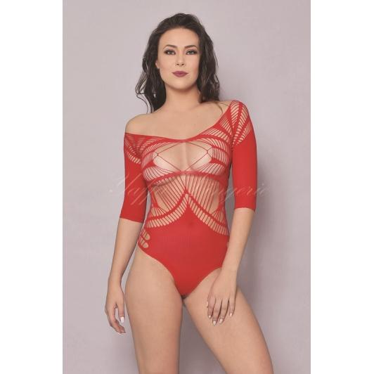 Lingerie - Bodystocking Yaffa - Y6118 Red