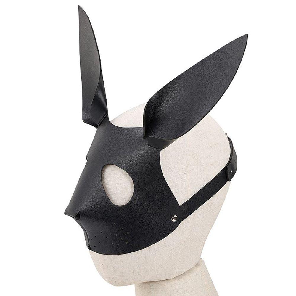 Máscara Couro Sintético - Coelho - 6590