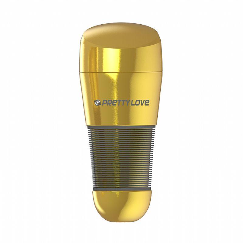 Masturbador Vagina Lanterna Dourada em Cyberskin - 1216