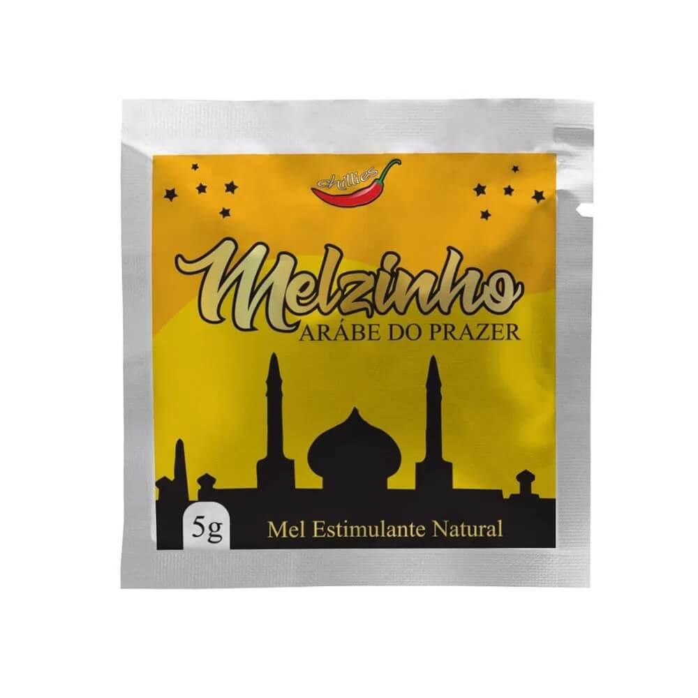 Melzinho Árabe do Prazer - Estimulante Natural Unissex - Chillies
