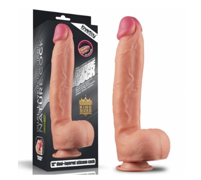 Pênis Realístico Nature Cock III- Lovetoy