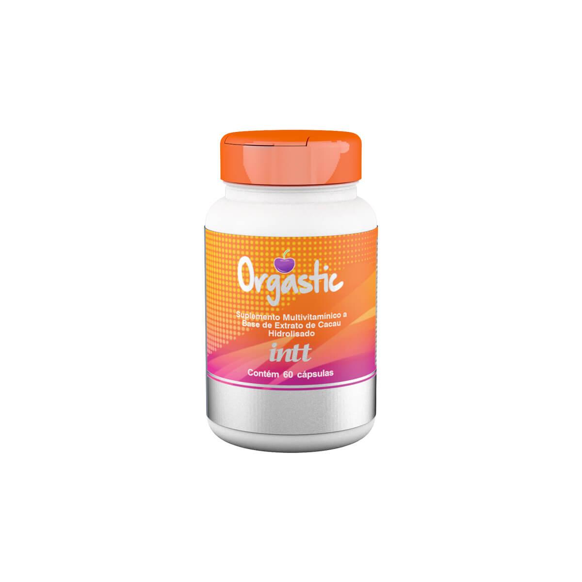 Suplemento Multivitamínico e Mineral que aumenta a Libido Feminino 60 Capsulas ORGASTIC