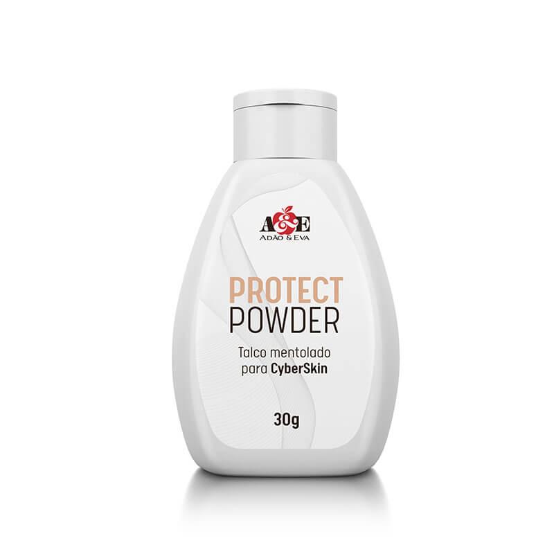 Talco Mentolado para Cyberskin 30grs protect Powder