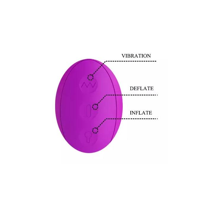 Vibrador com Estimulador de Clitóris e de Ponto G - Douglas - 6052