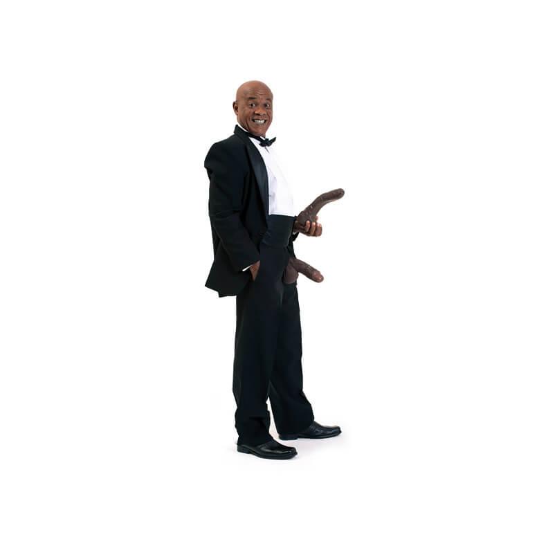 Vibrador Kid Bengala - Prótese Realística do ator - KID02
