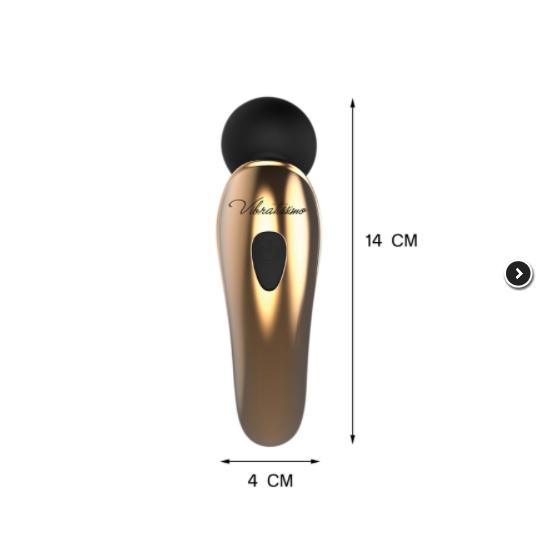 Vibrador Massageador em Silicone com Aplicativo - Vibratissimo - 21042