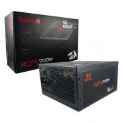 Fonte De Alimentação Redragon 700W 80Plus Full Modular