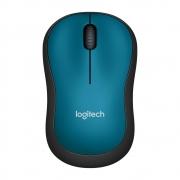 Mouse Logitech M185 Sem Fio Azul 1000DPI - 910-003636