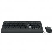 Teclado e Mouse MK540 Advanced , Logitech , Sem Fio Multimídia Tecnologia Unifying Cinza ABNT2 - 920-008674