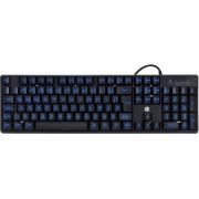 Teclado Gamer K300 HP , ABNT2, Led Blue, Black