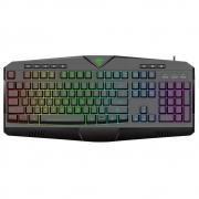 Teclado Gamer Submarine,  T-Dagger, RGB, US - T-TGK205