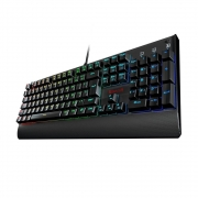 Teclado mecânico Gamer Kala, Redragon, RGB, Switch Red, PT Com Fio - K557RGB