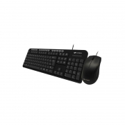 Teclado Mouse Kt-100bk C3tech, Preto -
