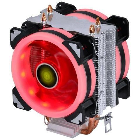 Cooler CPU VX Gaming BLITZAR Compatível com Intel/AMD TDP 100W C/ LED Vermelho - CP400