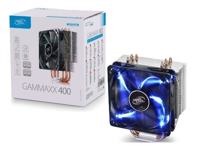 Cooler para Processador DeepCool Gammaxx 400, LED Blue 120mm, Intel-AMD, DP-MCH4-GMX400