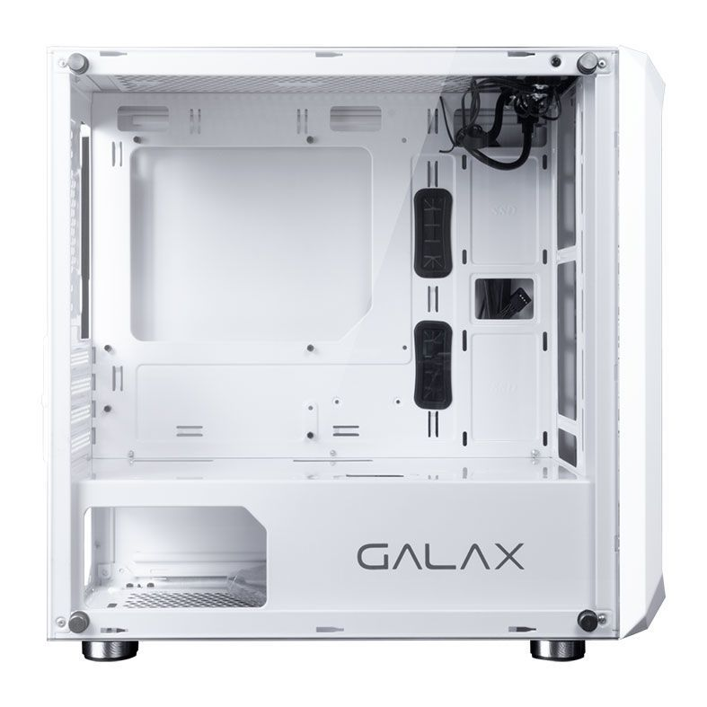 Gabinete Gamer  Galax Nebulosa, Mid Tower, Vidro Temperado, Branco, GX700 WH
