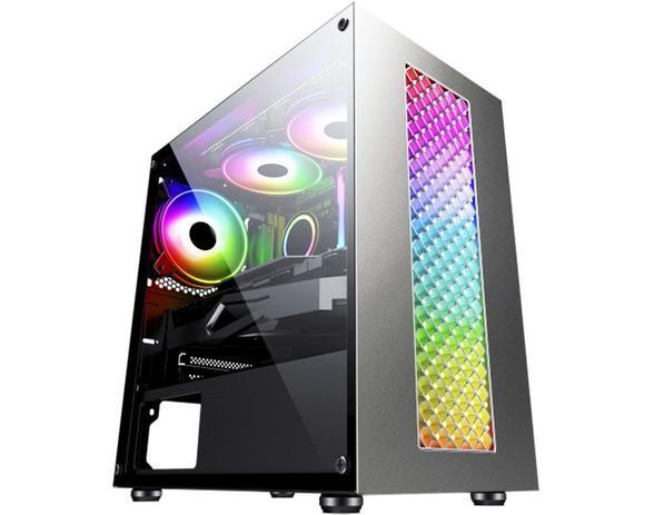 Gabinete Gamer K-Mex Bifrost III RGB