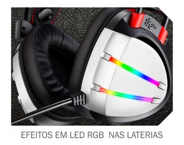 Headset Gamer AR70 Preto K-mex 7.1 Virtual Surround USB
