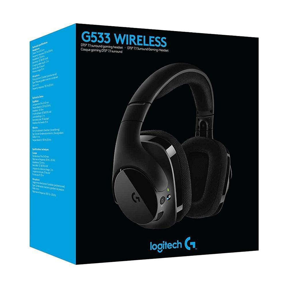 Headset Logitech Gamer Wirelles  G533