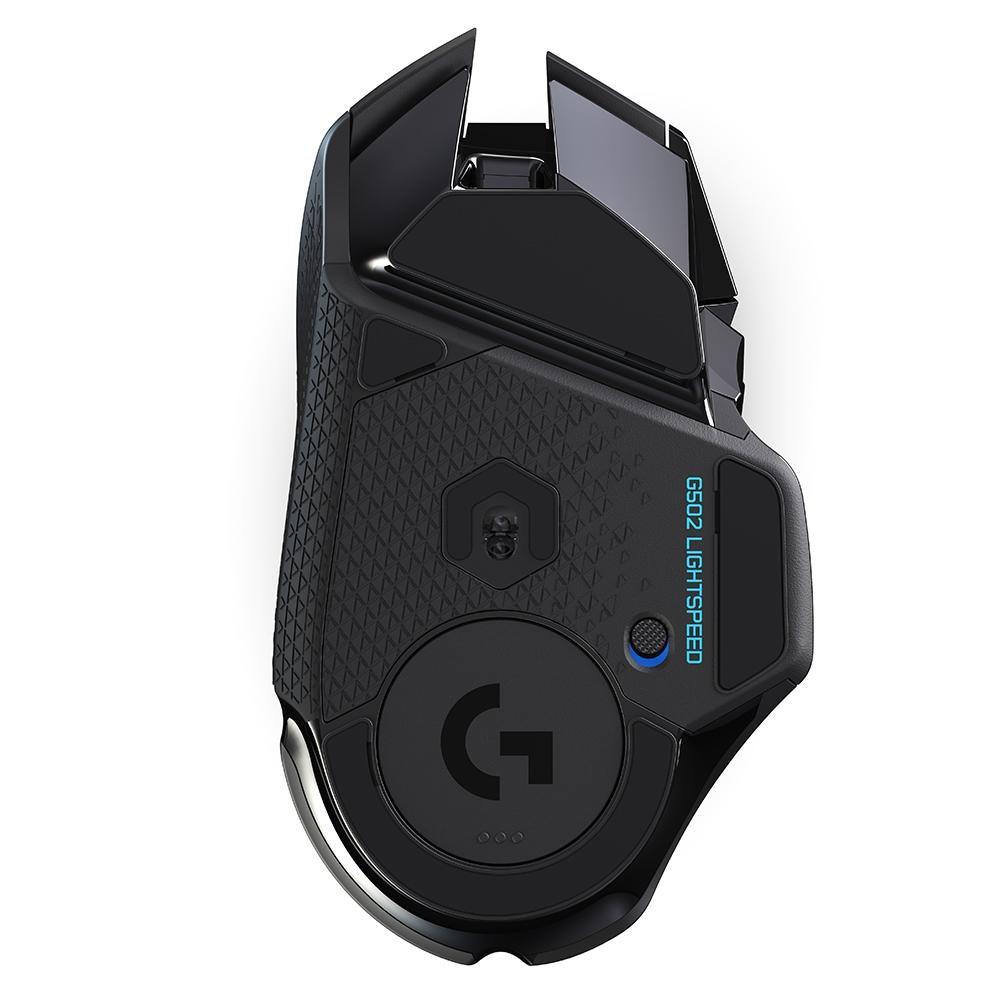Mouse Gamer G502 Hero Logitech, Sem Fio, 16k Lightspeed, Recarregável, RGB Lightsync, 11 Botões, 16000DPI - 910-005566