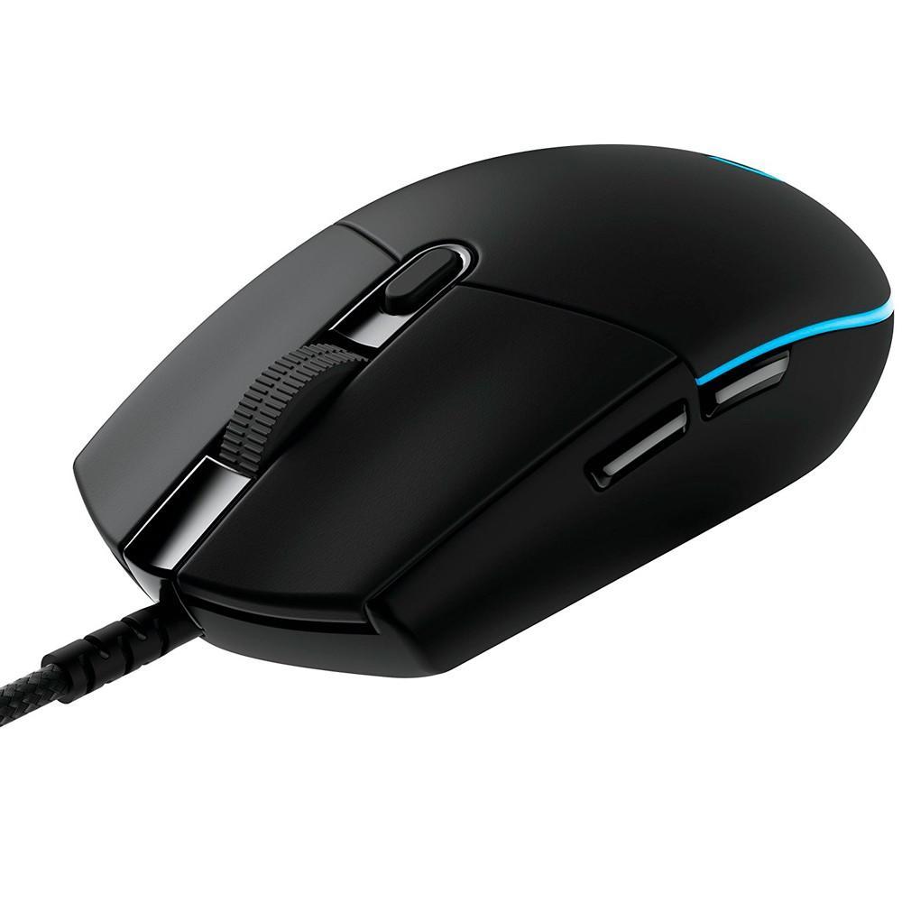 Mouse Gamer G PRO Logitech, RGB Lightsync 12000DPI - 910-004873