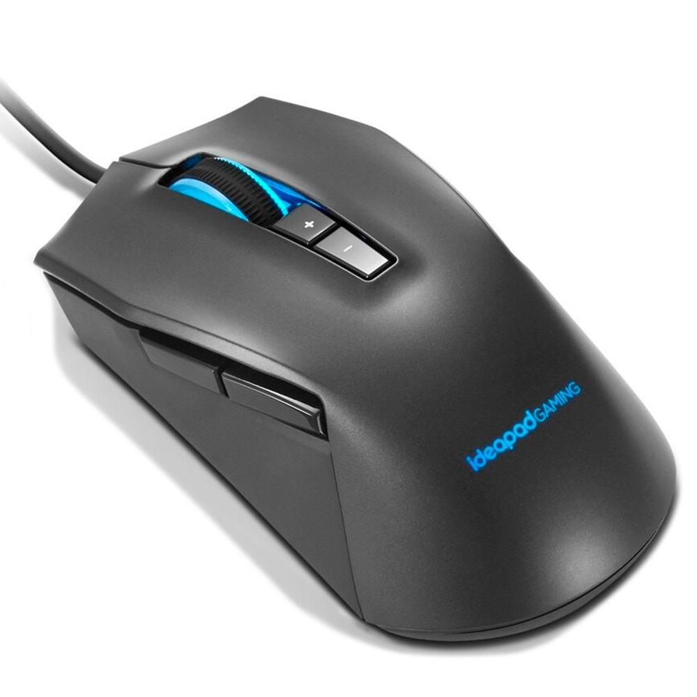 Mouse Gamer Lenovo IdeaPad M100, RGB, 7 Botões, 3200DPI - GY50Z71902