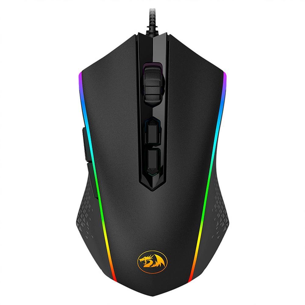 Mouse Gamer Memeanlion Redragon, 10000DPI, RGB - M710