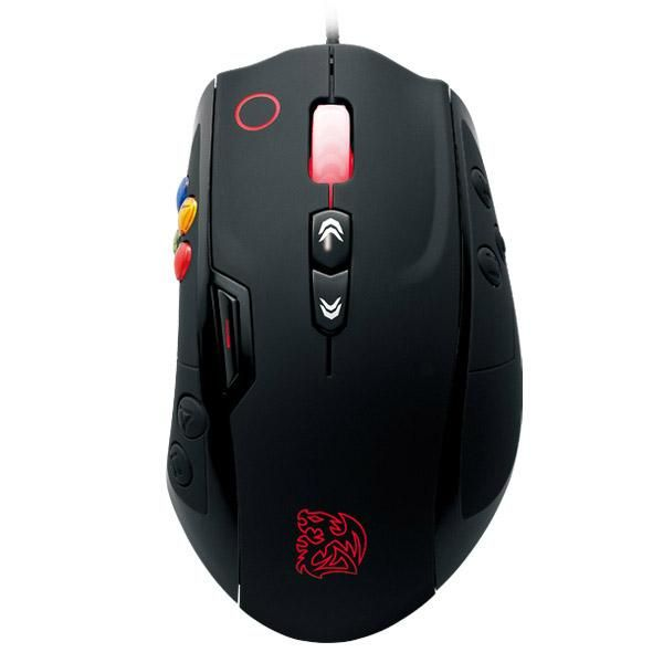 Mouse Gamer Volos Black  Thermaltake 8200DPI, MO-VLS-WDLOBK-01 - BOX
