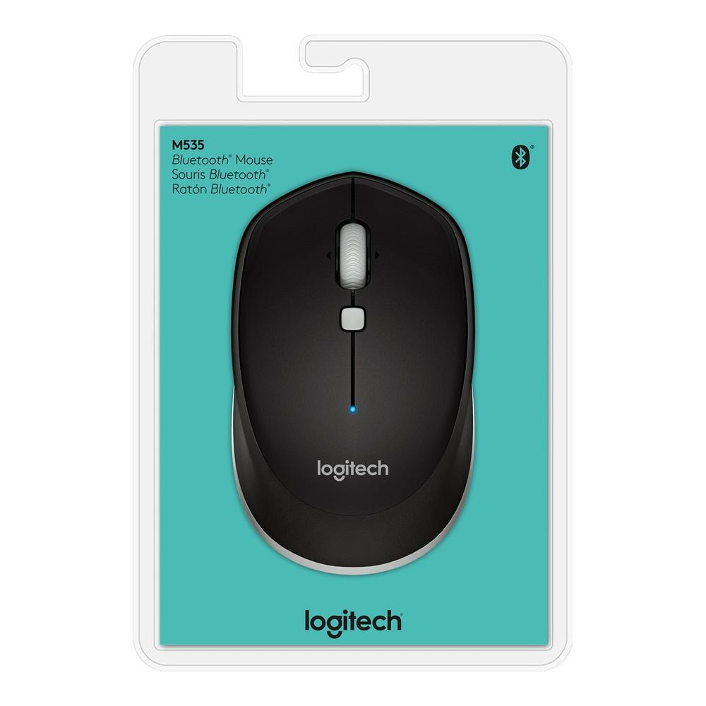 Mouse Logitech M535 Bluetooth Preto 1000DPI - 910-004432