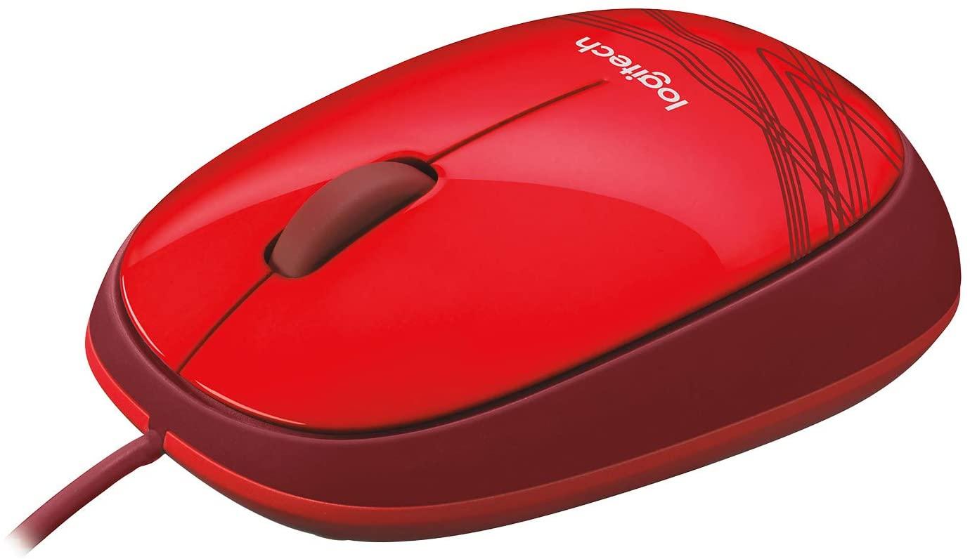 Mouse M105 Logitech, Vermelho - 910-002959