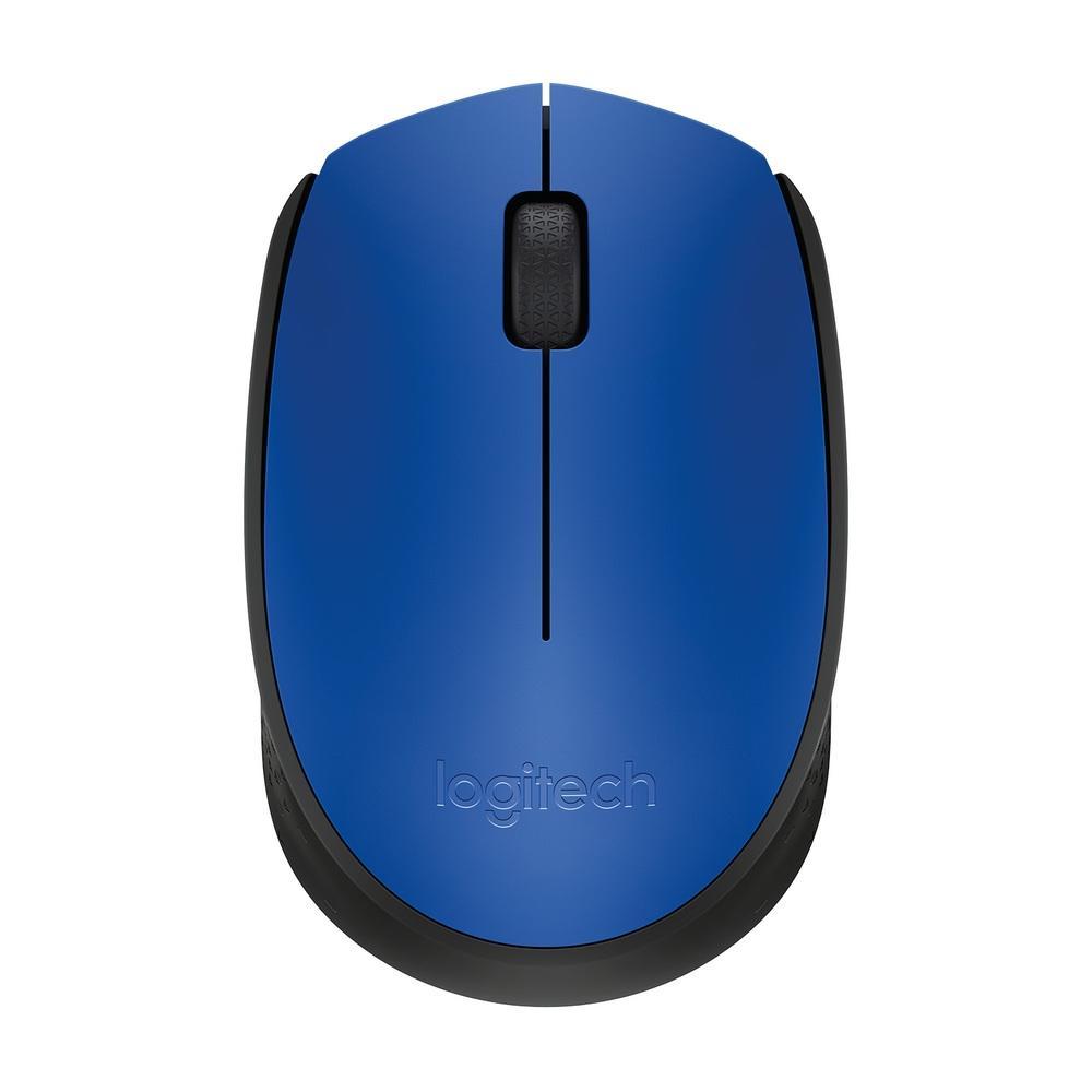 Mouse  M170 Logitech, Sem Fio Azul e Preto - 910-004800